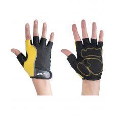 Перчатки Starfit для фитнеса SU-108, желтые/черные