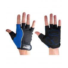 Перчатки Starfit для фитнеса SU-108, синие/черные