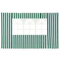 Стенка зеленая с окном Green Glade 4110