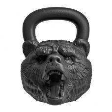 "Гиря с характером Heavy Мetal ""Медведь"" 16 кг"