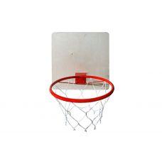 Кольцо баскетбольное с сеткой d=380 мм