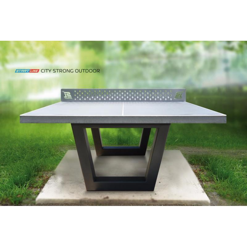 Фотография Теннисный стол City Strong Outdoor - бетонный антивандальный теннисный стол. 2