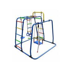 Детский спортивный комплекс Формула здоровья Игрунок Т Плюс синий/радуга