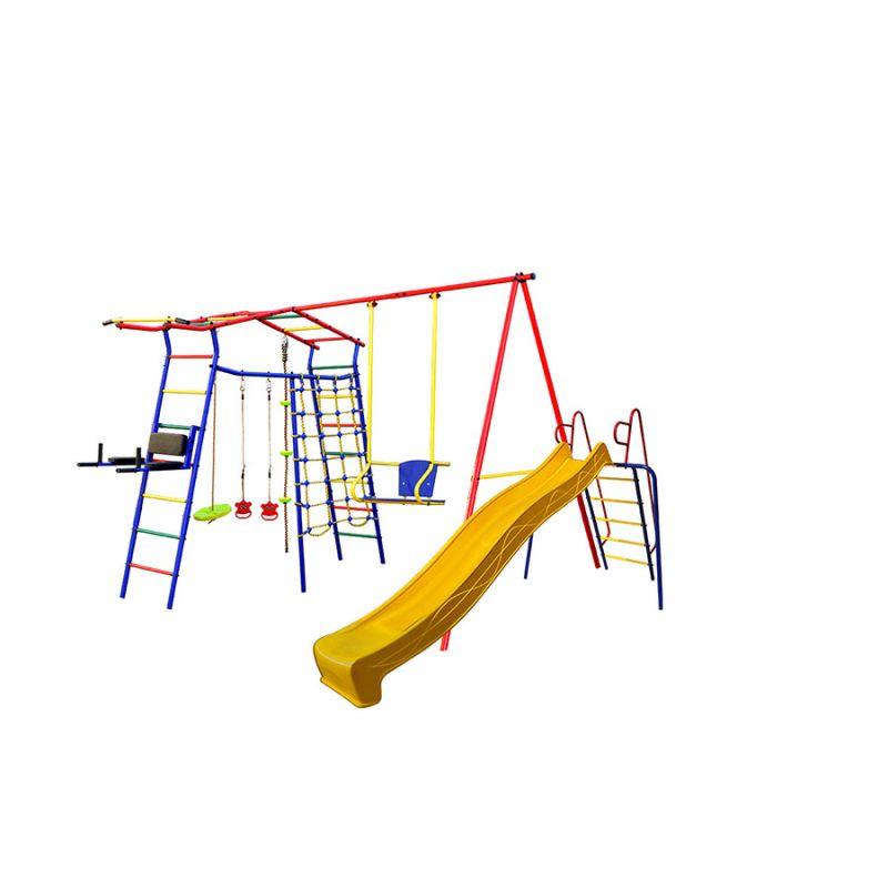 Фотография Спортивный комплекс Игромания-5 Фитнесс дачный с горкой КМС-425 1
